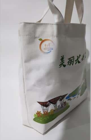 房地产帆布袋 数码彩印帆布袋