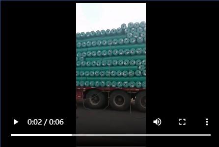 【视频】土工布整车到货视频